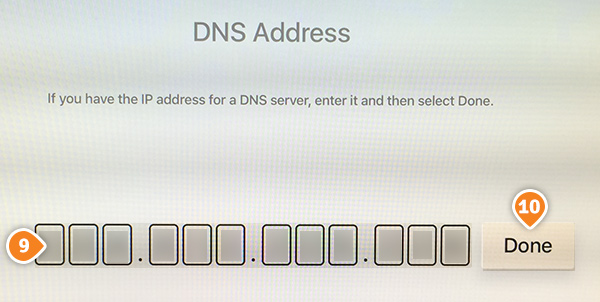 how to change dns on vizio smart tv