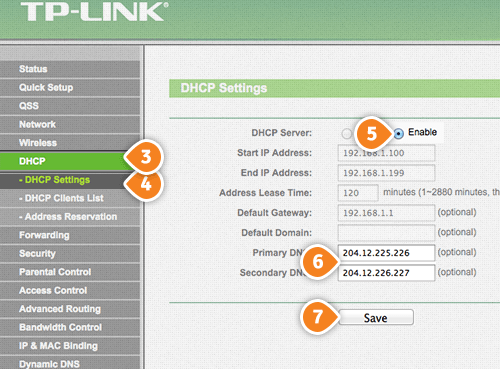 How to set up Smart DNS on TP-Link Router | SmartyDNS
