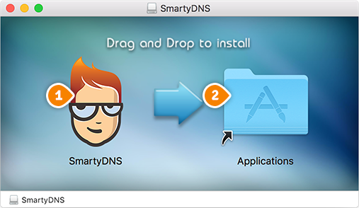 How to set up SmartyDNS App for macOS: Step 1