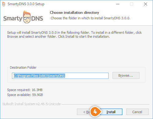 How to set up SmartyDNS App for Windows: Step 4