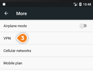 How to set up PPTP on Android Marshmallow: Step 3