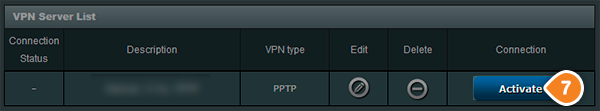 How to set up VPN on Asus Routers: Step 5