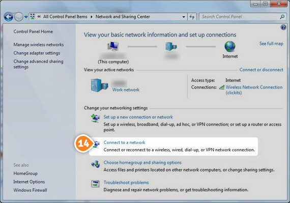 How to set up PPTP on Windows 7: Step 8