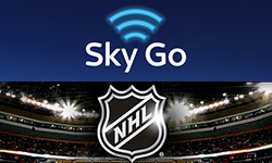 Unblock Sky Go and NHL Gamecenter with Smart DNS