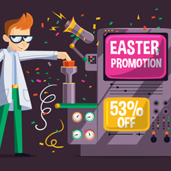 Easter SmartyDNS promotion 2016
