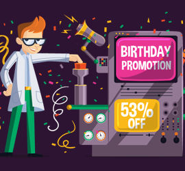3 Years Anniversary Promotion