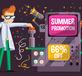 This summer we're surfin' Smart! Get 66% OFF!