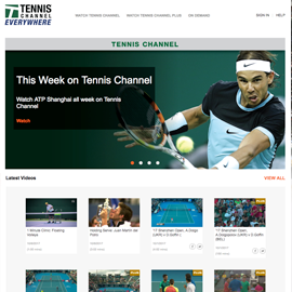 Unblock Tennis Channel Everywhere with SmartyDNS