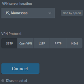 IKEv2 VPN protocol added on SmartyDNS