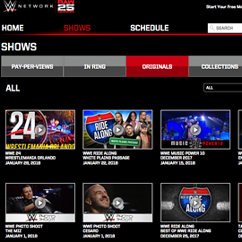 Watch WWE Network