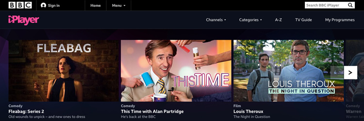 Watch BBC iPlayer Abroad