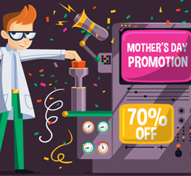 Get your Mother's Day Special Deal from SmartyDNS