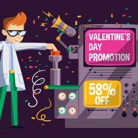 """Happy Valentine's Day"" Promotion"