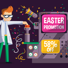 """Happy Easter"" SmartyDNS Promotion"