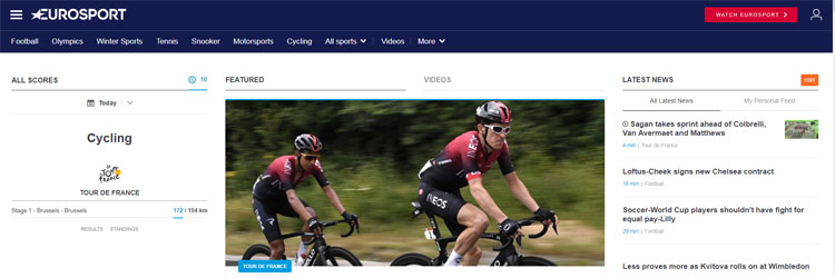 How to Watch Eurosport in USA Hassle-Free