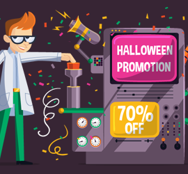 Halloween Promotion – Up to 70% OFF!